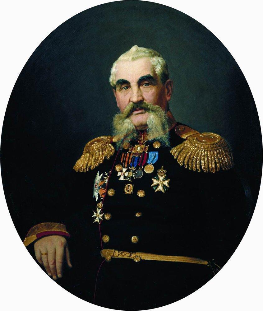 Илья Ефимович Репин. Портрет военного