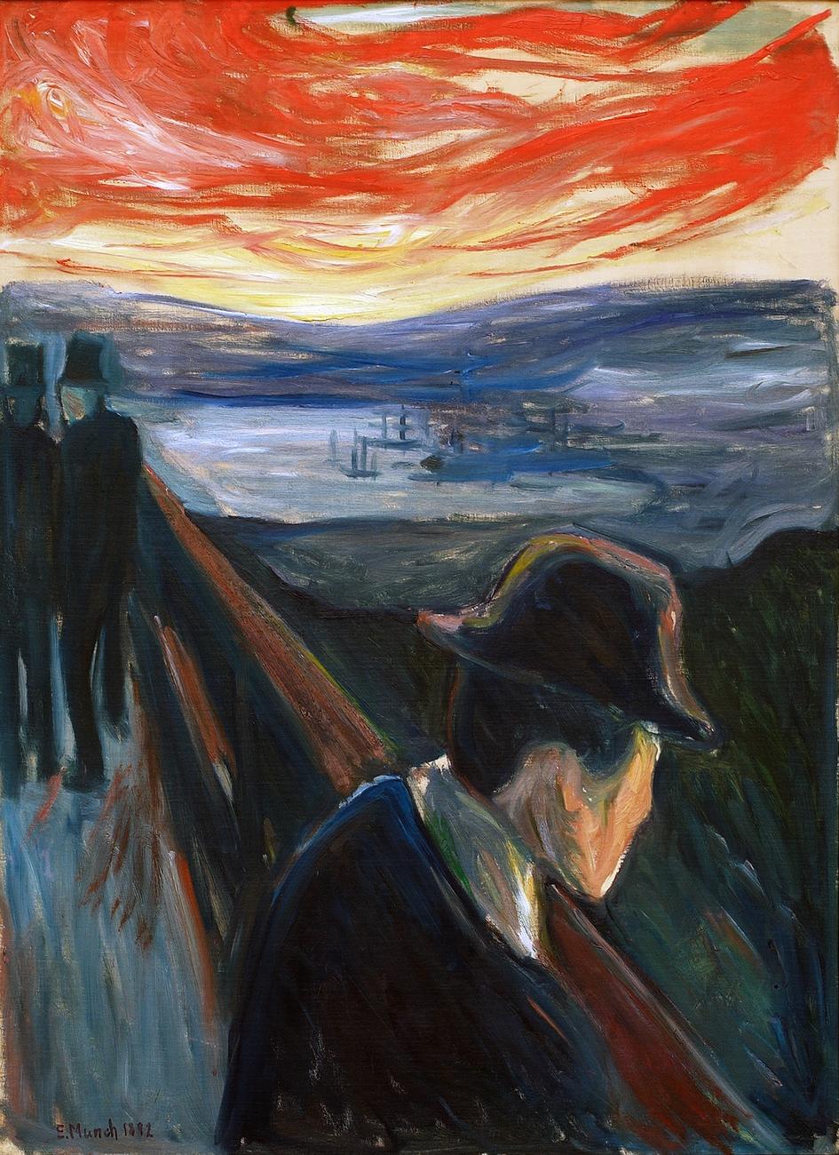 Edvard Munch. Despair