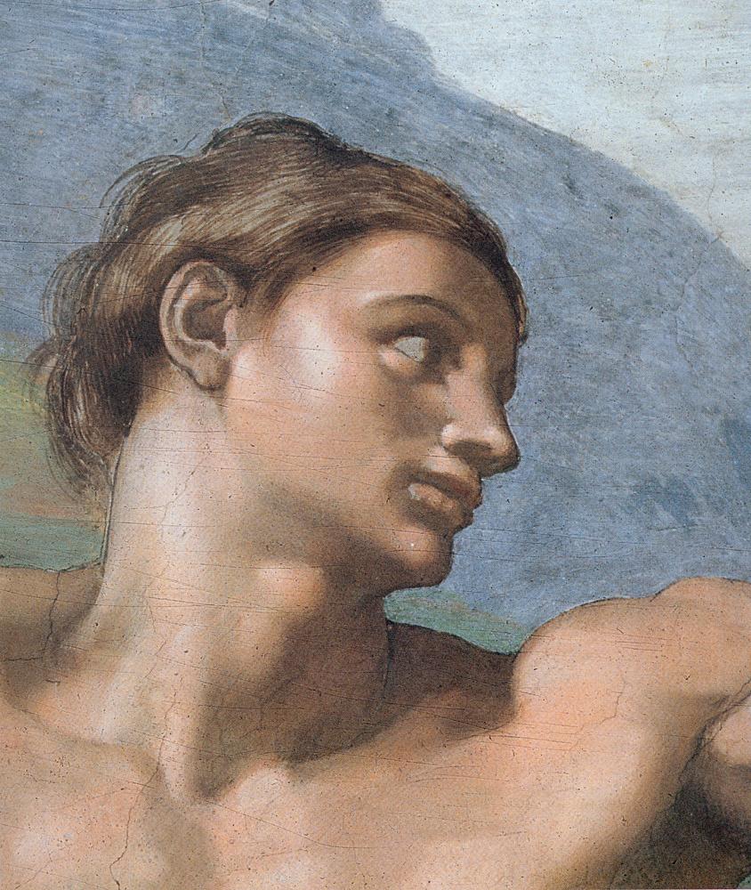 Микеланджело Буонарроти. Бытие, создание Адама