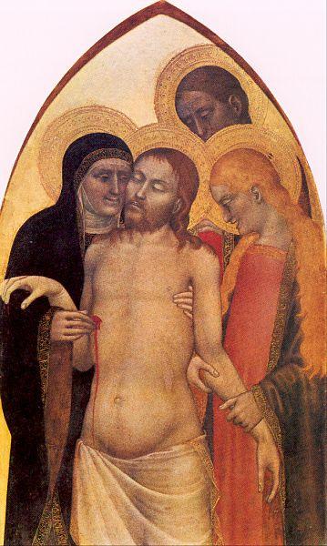 Джованни да Милано. Снятие с креста