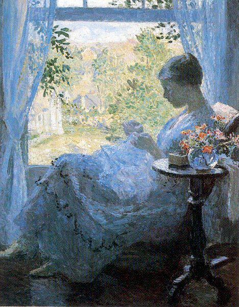 Гари Юлий Мелчепс. Девушка у окна