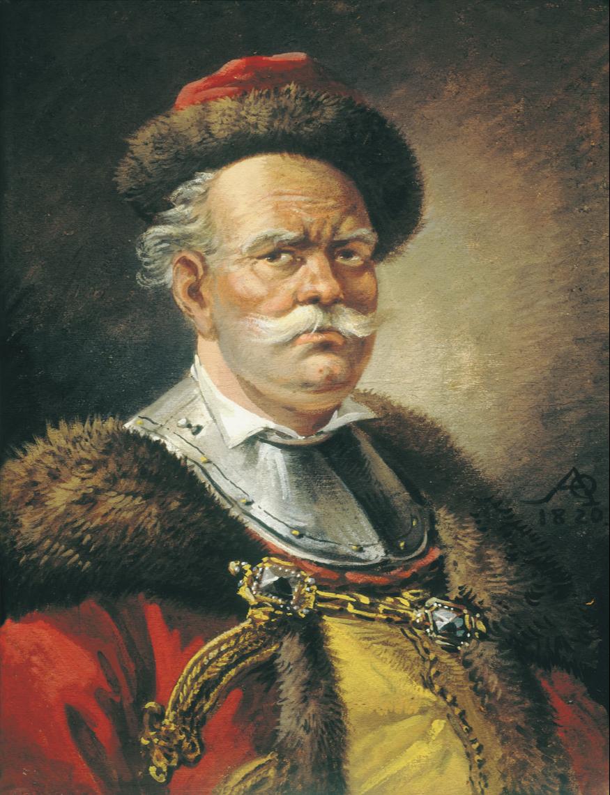 Alexander Osipovich Orlovsky. Portrait of a Polish gentry. State Russian Museum, St. Petersburg
