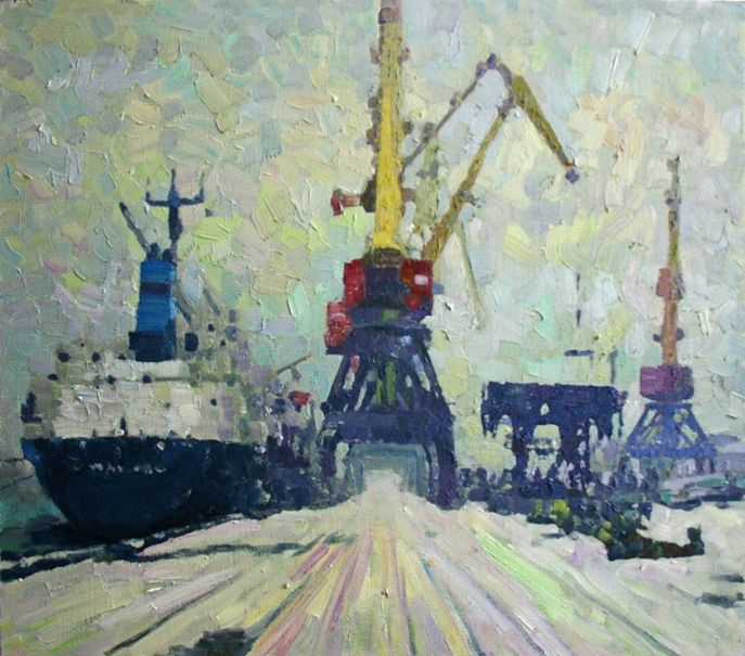 Михаил Рудник. North port