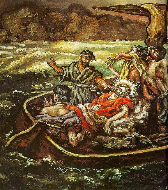 Джорджо де Кирико. В лодке