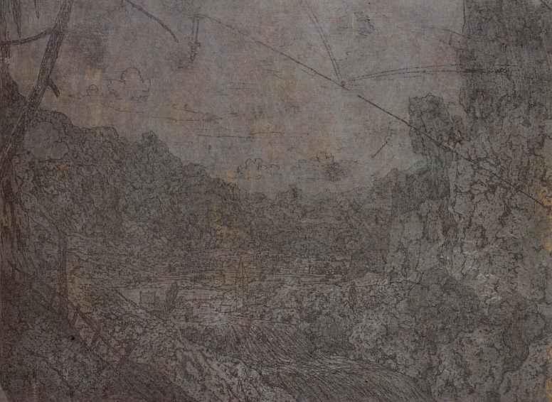 Херкюлес Питерс Сегерс. Речная долина с водопадом