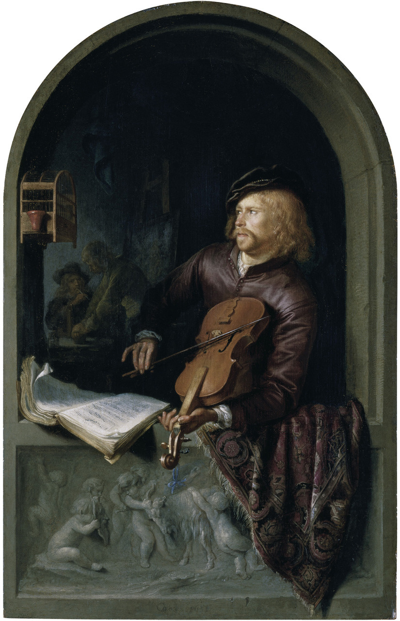 Gerrit (Gerard) Dow. Violinist