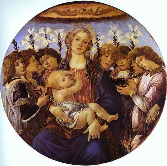 Сандро Боттичелли. Мадонна и младенец