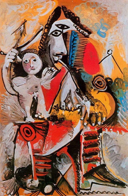 Пабло Пикассо. Мушкетер и Амур