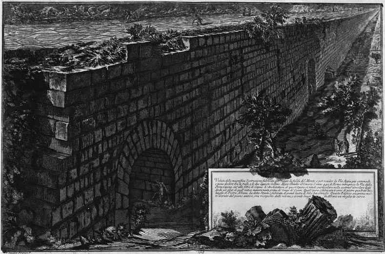 Джованни Баттиста Пиранези. Античные памятники Альбано и Кастельгандольфо