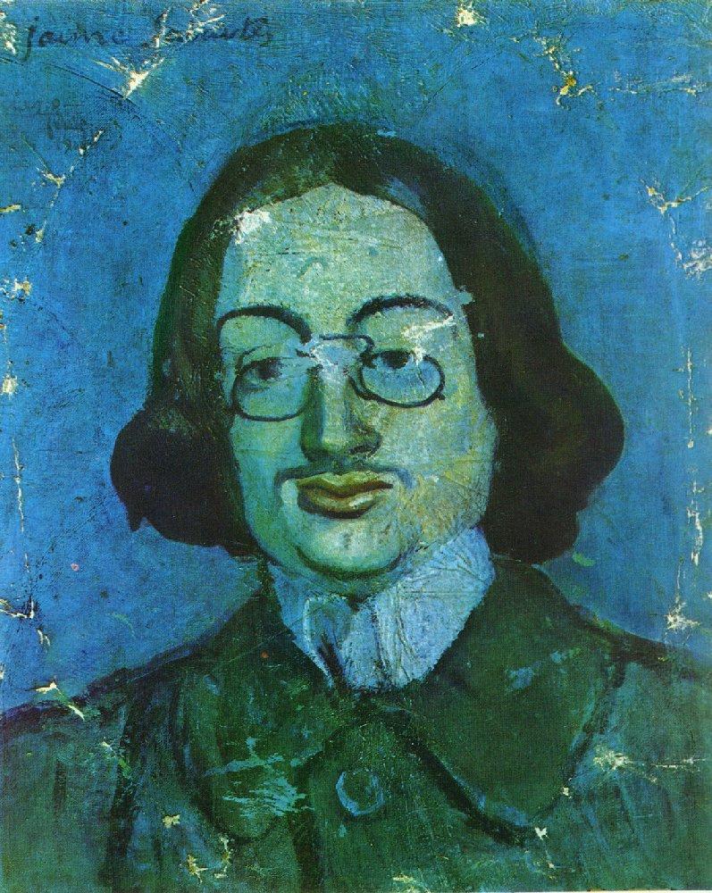 Пабло Пикассо. Портрет Хайме Сабартеса