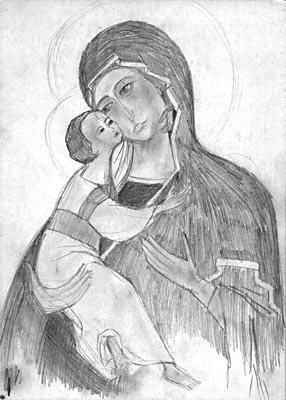 Natalya Garber. Petrine Mother of God
