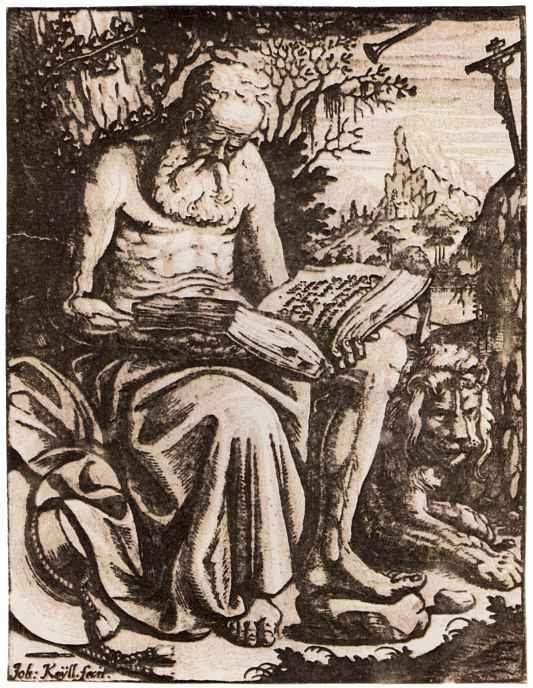 Johann Keill. Saint Jerome