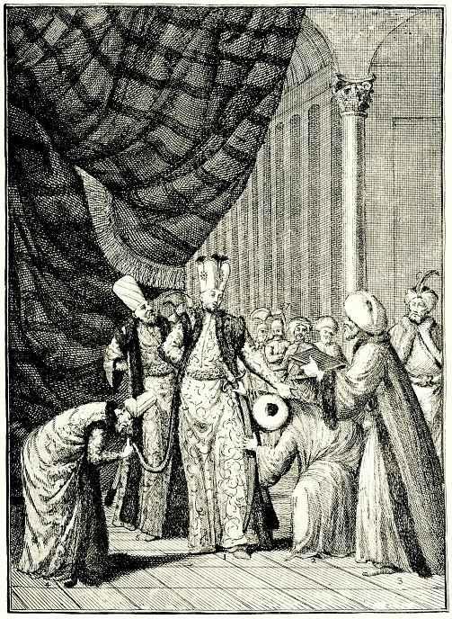 Уильям Хогарт. Коронация султана Ахмета в мечети Юсуфа