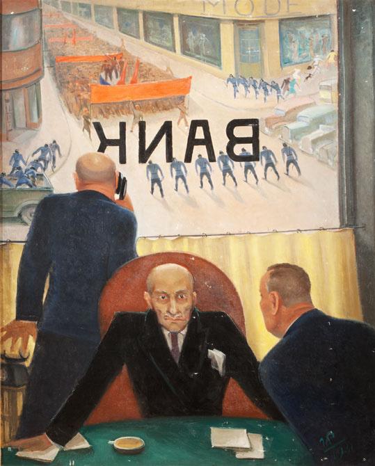 Георгий Георгиевич Ряжский. Крах банка
