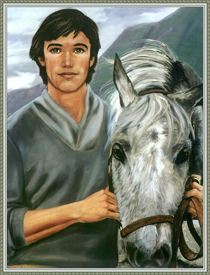 Робин Вуд. Белый конь