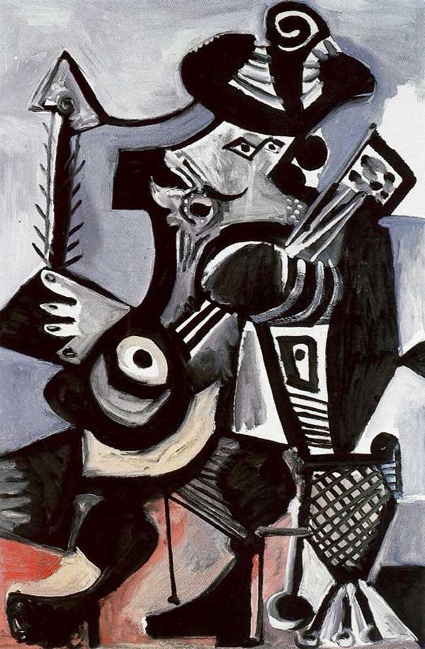 Пабло Пикассо. Музыкант