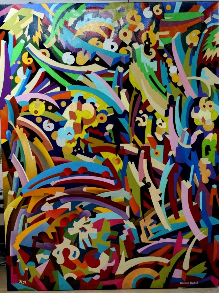 Yosef Reznikov (RESH). Meditation --composition #3--