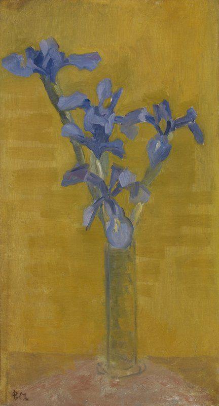 Pete Mondrian. Irises