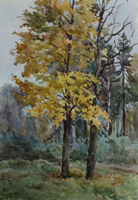 Sergey Kuzmich Frolov. Autumn