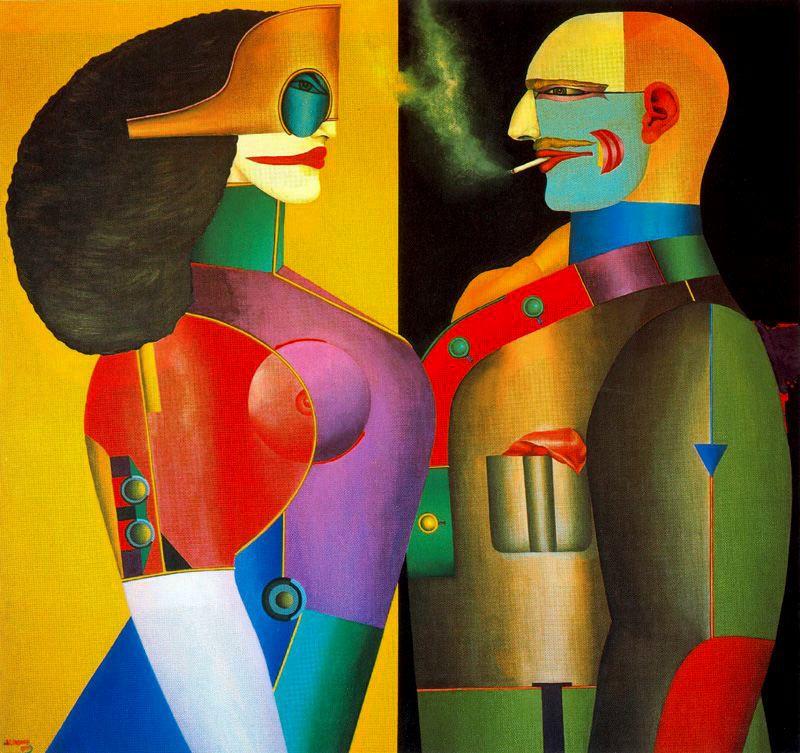 Image result for richard lindner artworks