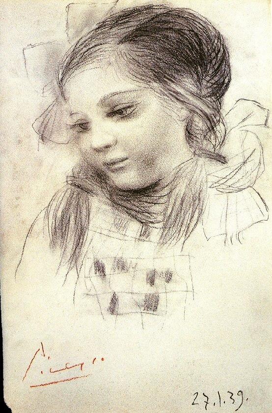 Пабло Пикассо. Портрет дочери Майи
