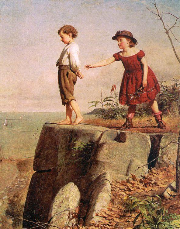 Сеймур Джозеф Гай. Мальчик и девочка