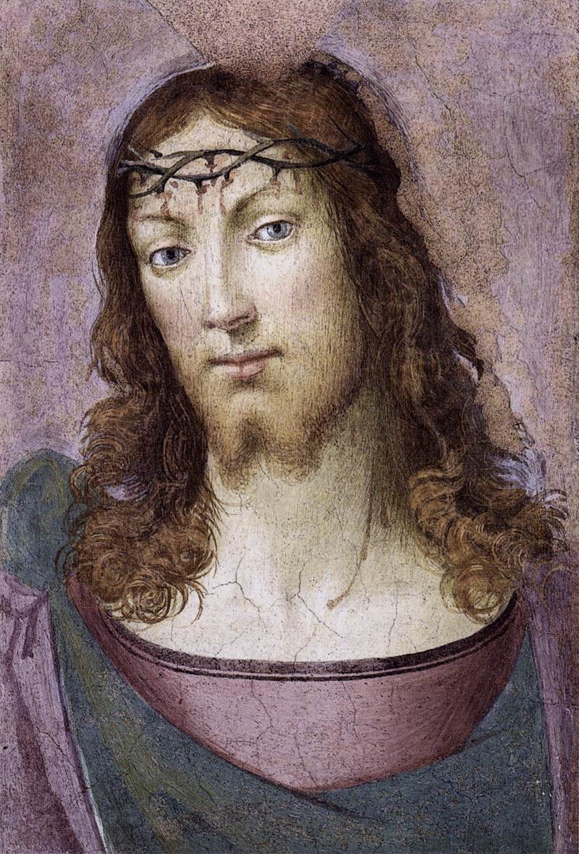 Фра Бартоломео. Christ in the crown of thorns