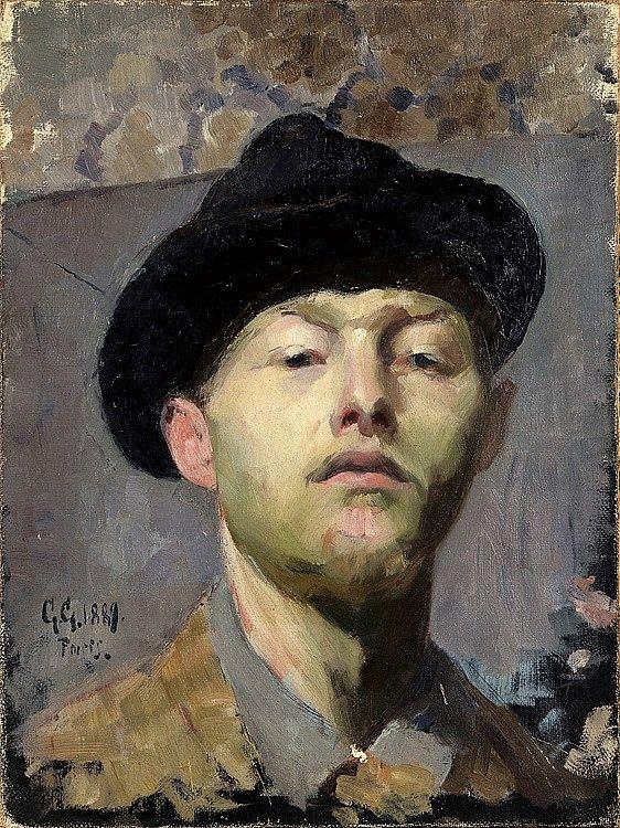 Giovanni Giacometti. Self-portrait