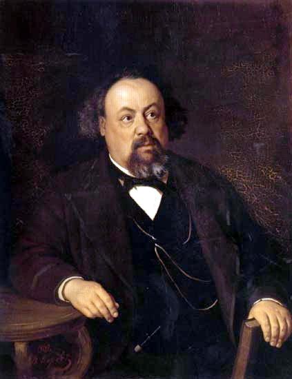 Василий Григорьевич Перов. Портрет писателя Писемского
