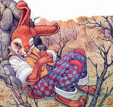 Дон Дэйли. Иллюстрация к сказке Братец Кролик 024
