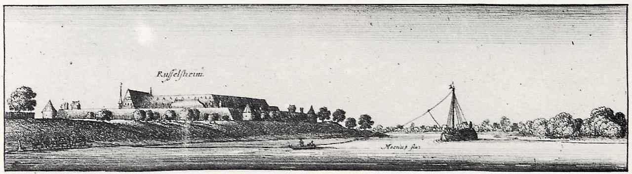 Венцель Холлар. Вид на город