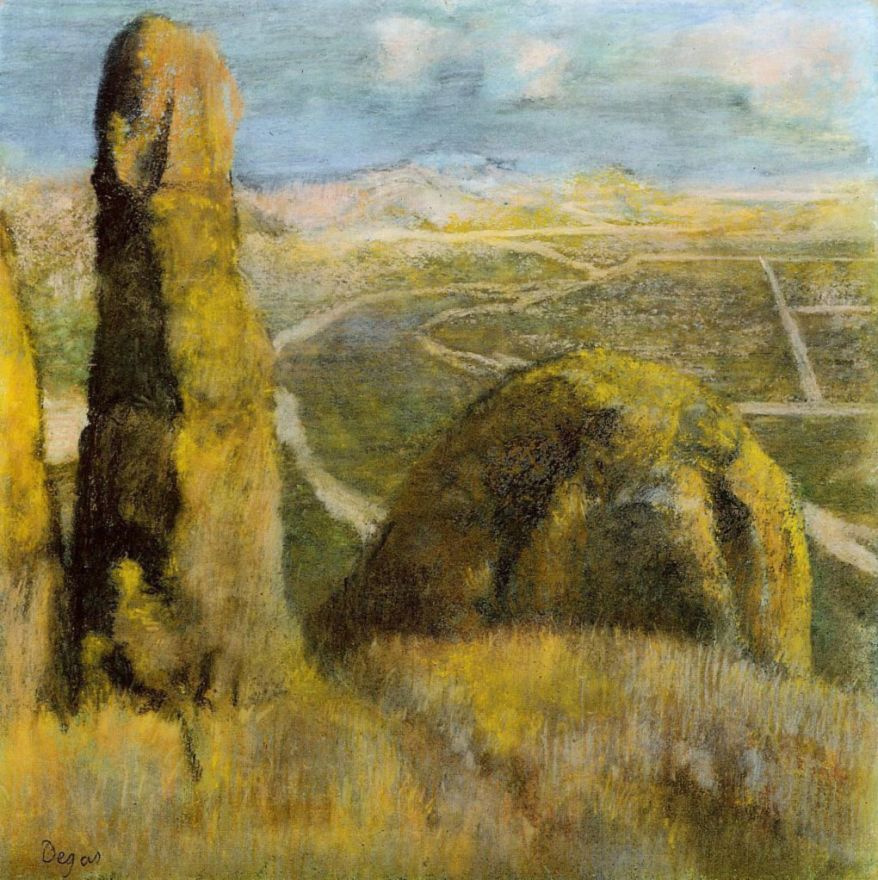 Эдгар Дега. Пейзаж