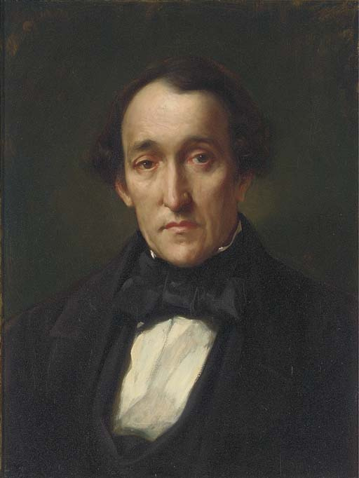 Frederic Leighton. Portrait of Dr Frederic Septimus Leighton, the artist's father