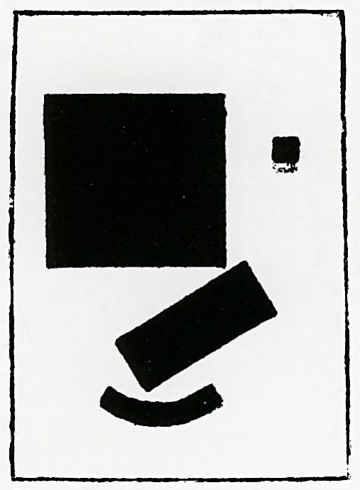"""Kazimir Malevich. Lithograph from the album """"Suprematism. 34 of drawing"""""""