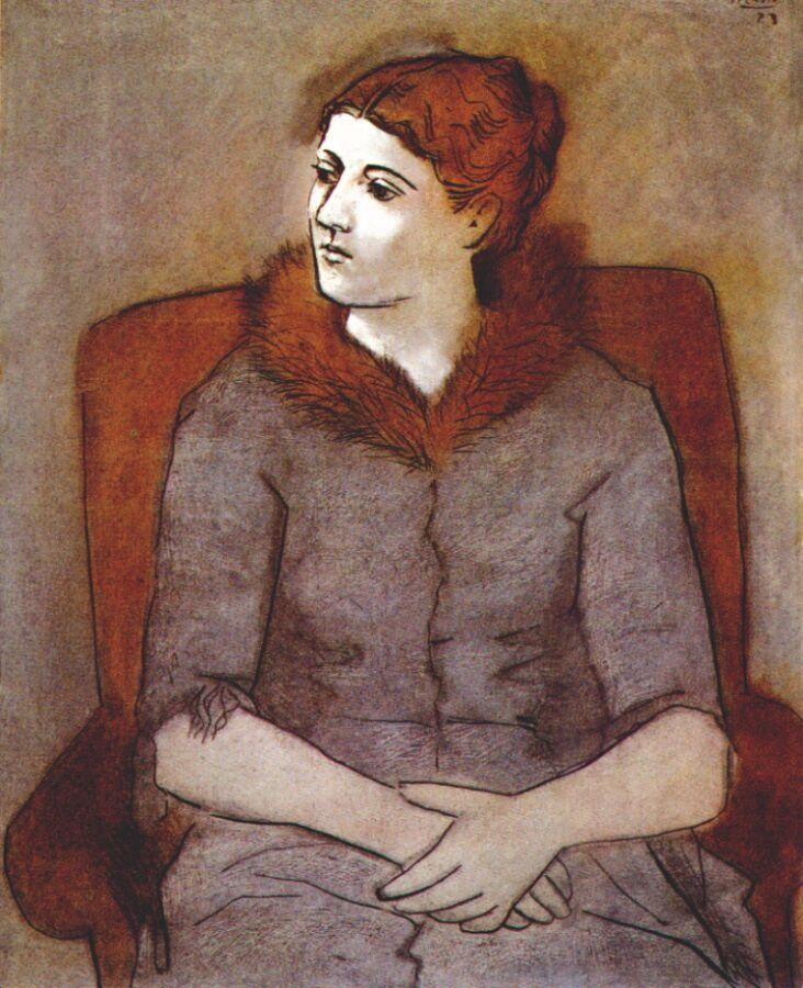 Пабло Пикассо. Мадам Ольга Пикассо