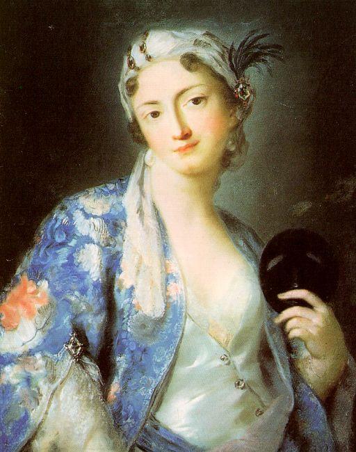 Розальба Каррьера (Каррера). Портрет Феличиты Сартори