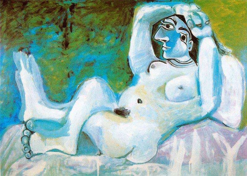Пабло Пикассо. Большая обнаженная
