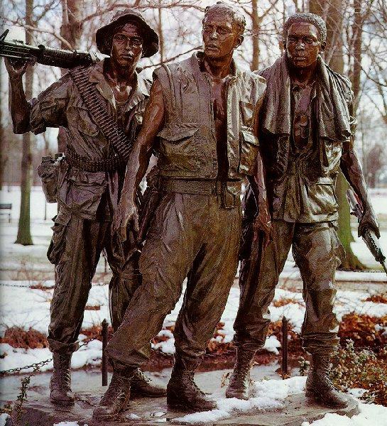 Фредерик Харт. Три солдата