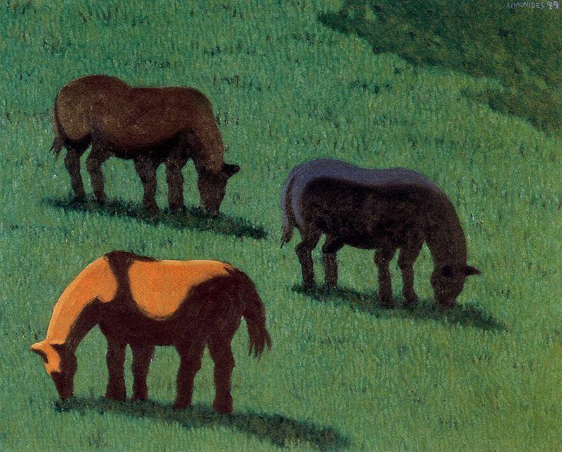 Simonides. Horse