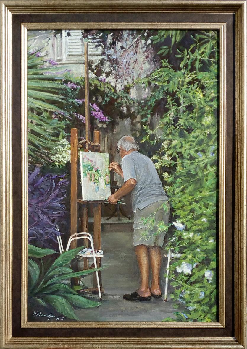 Alexander Matyukhin. Artist (40x60 cm)