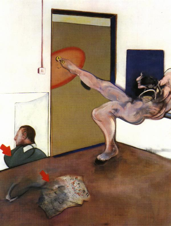 Francis Bacon. Sketch for the painting