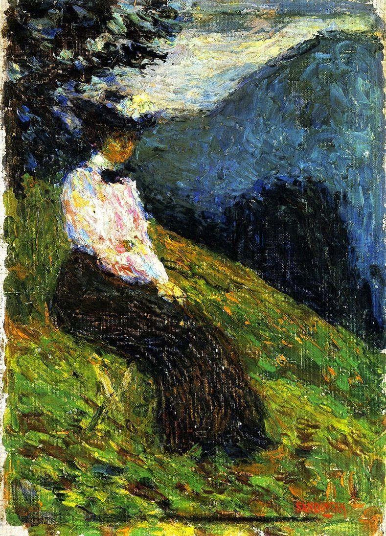 Wassily Kandinsky. Kochel. Gabrielle Munter