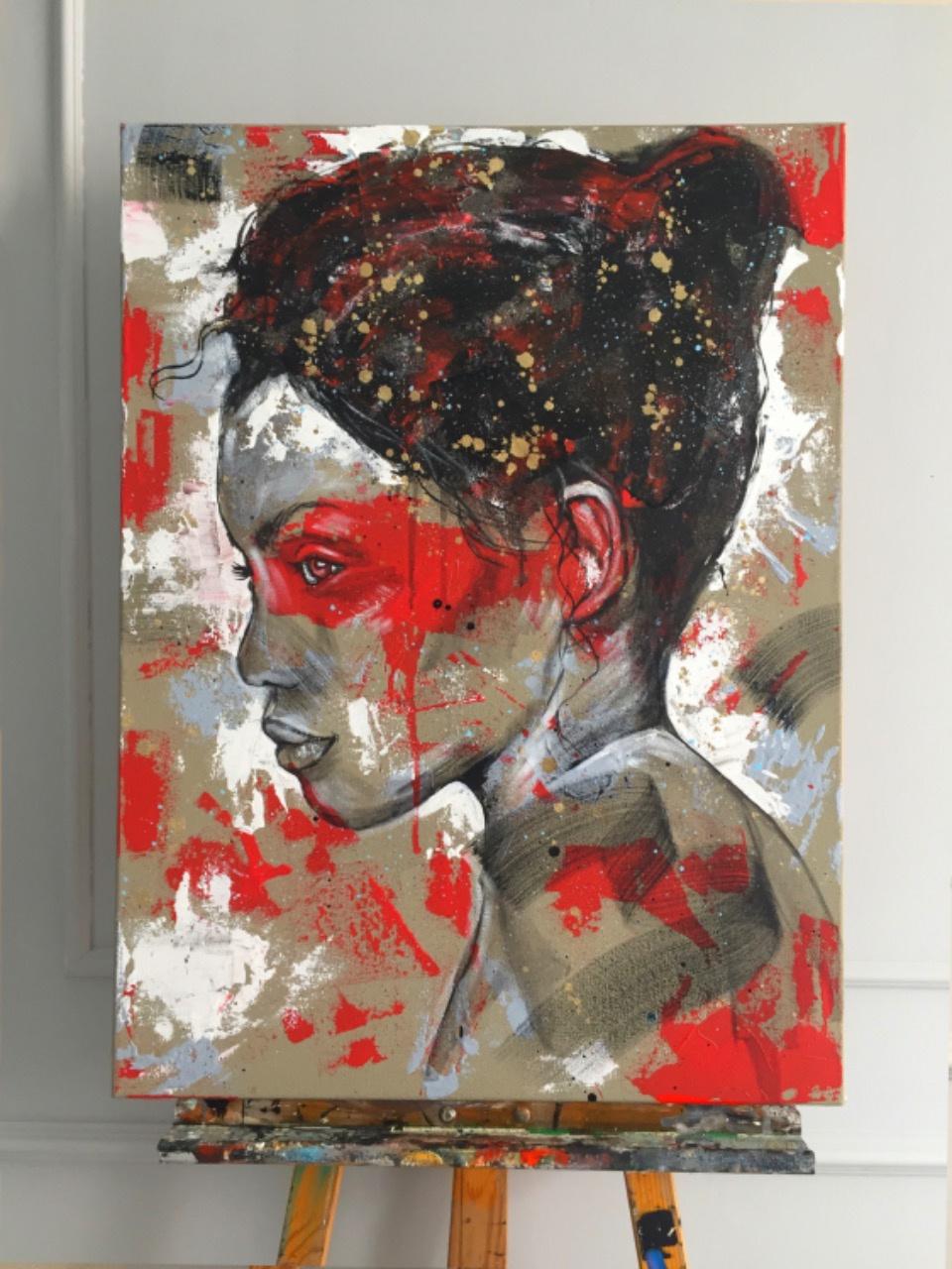 Vasily Vladimirovich Kizinёk. Abstract portrait 05