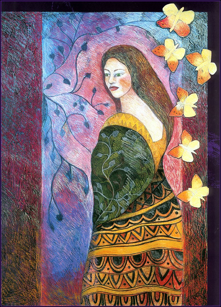 Patricia Wuett. Her heart changed to a butterfly