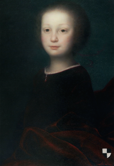 Ольга Акаси. Портрет кронпринца