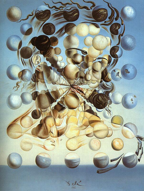 Salvador Dali. Galatea of the Spheres