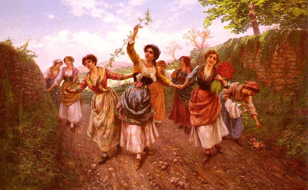 Пьетро Габрини. Весенний фестиваль