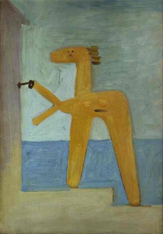 Пабло Пикассо. Купальщица открывает кабину