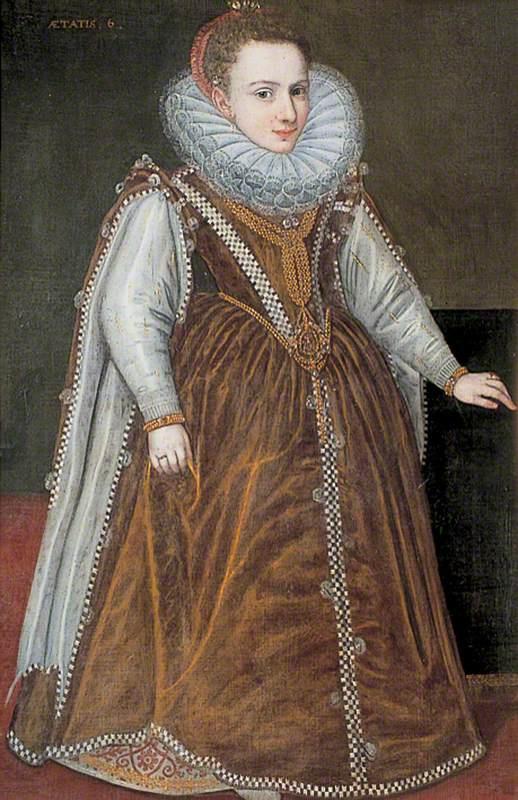 Sofonisba Anguissola. Infanta Catalina, granddaughter of the duke and duchess of Parma