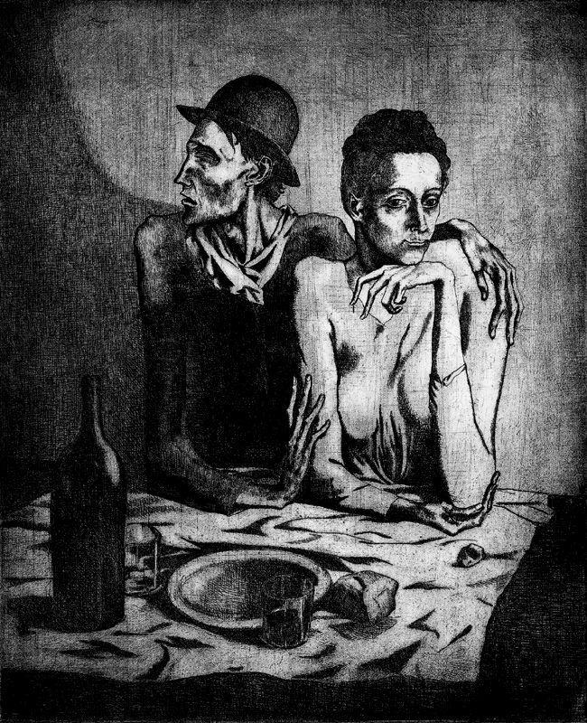 Пабло Пикассо. Утешение